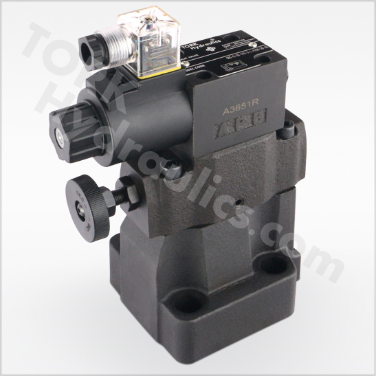 BS-series-low-noise-pilot-operated-relief-valves-SBS-series-low-noise-solenoid-operated-relief-valves-tork-hydraulics