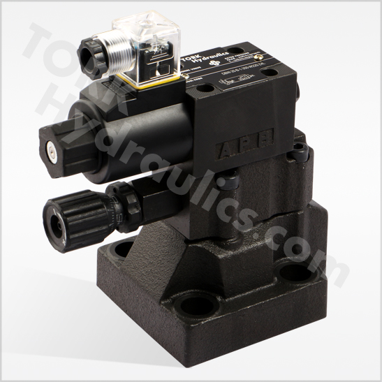 DB series pilot operated relief valves DBW series solenoid operated relief valves tork hydraulics