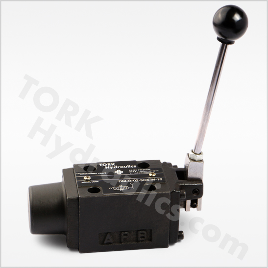 DM series manually operated directional valves tork hydraulics