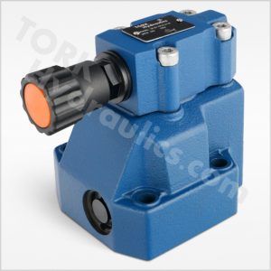 DR series pilot operated pressure reducing valves tork hydraulics