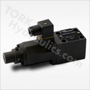 EDG series proportional directly operated relief valves tork hydraulics