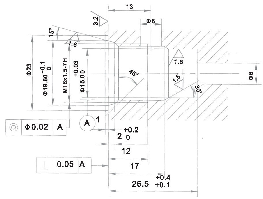 LT LTC series flow control valves LT04-00-00 cavity dimensions torkhydraulics