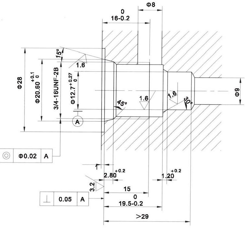LT LTC series flow control valves LT06-01-00 cavity dimensions torkhydraulics