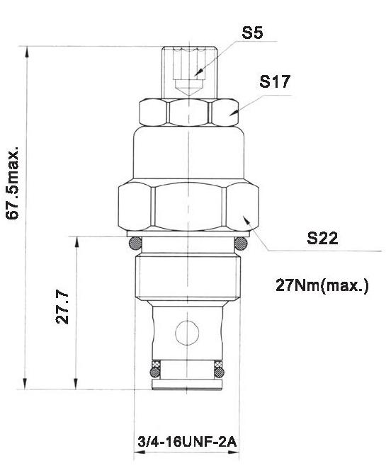 LT LTC series flow control valves LT06-01-00 torkhydraulics