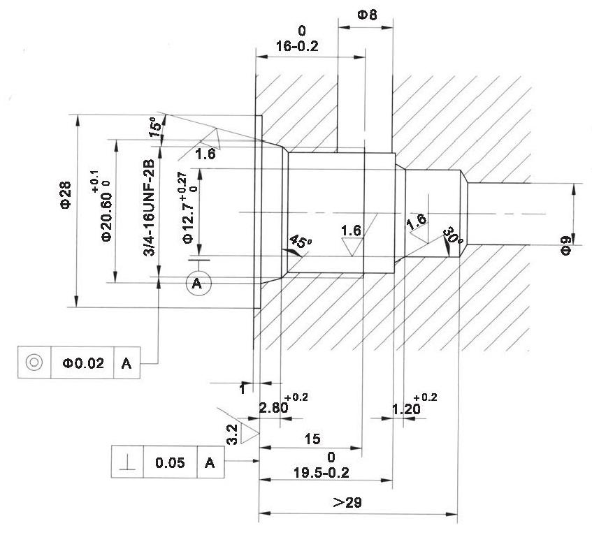 LT LTC series flow control valves LT06-01L-00 cavity dimensions torkhydraulics