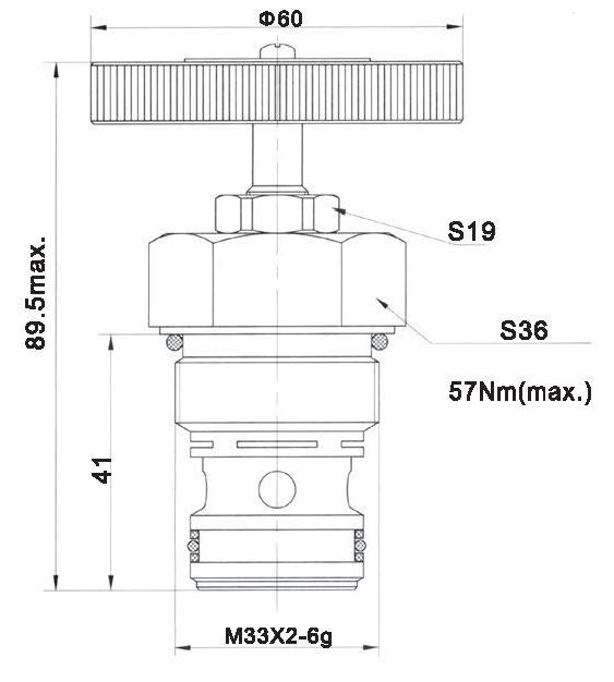 LT LTC series flow control valves LT12-00-00 torkhydraulics