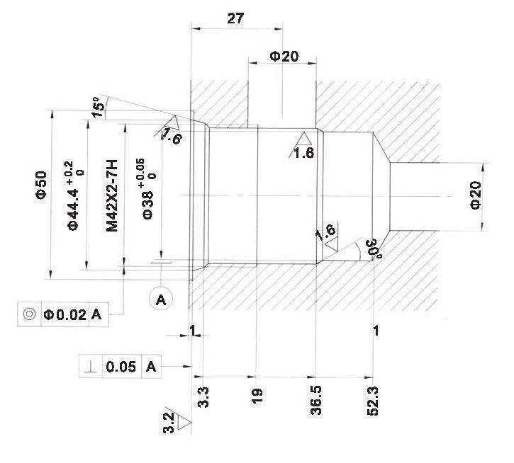 LT LTC series flow control valves LT16-00-00 cavity dimensions torkhydraulics