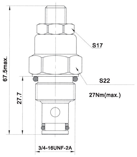 LT LTC series flow control valves LTC06-00-00 torkhydraulics