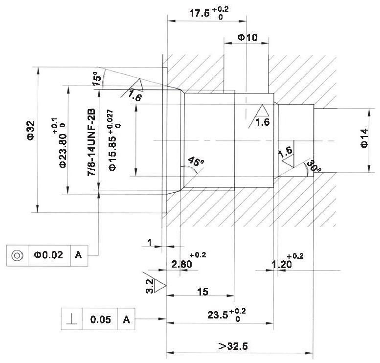 LT LTC series flow control valves LTC08-00-00 cavity dimensions torkhydraulics