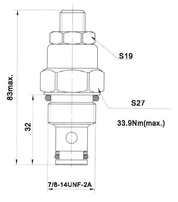 LT LTC series flow control valves LTC08-00-00 torkhydraulics