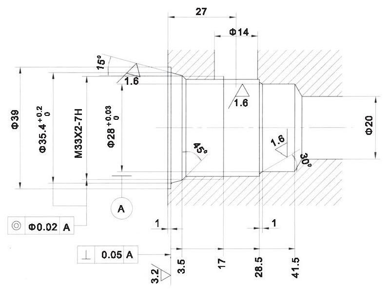 LT LTC series flow control valves LTC12-00-00 cavity dimensions torkhydraulics