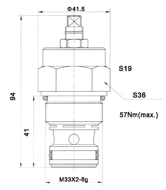 LT LTC series flow control valves LTC12-00-00 torkhydraulics