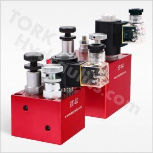 Lift valve series torkhydraulics