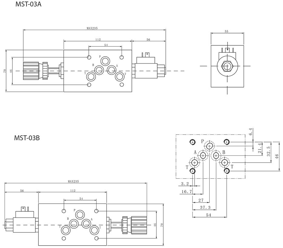MST-series-modular-solenoid-throttle-valves-Dimensions2