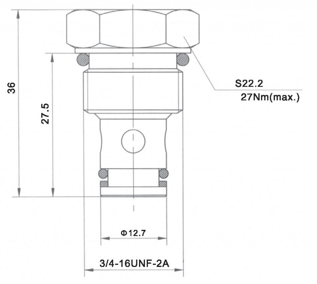 LCV06-01-00 dimensions torkhydraulics