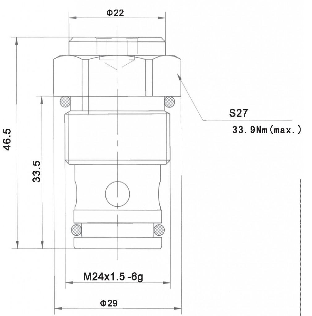 LCV10-01-00 dimensions torkhydraulics