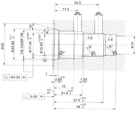 Three-way,two-position-HLSV-08-232-00-Cavity-dimensions-torkhydraulics
