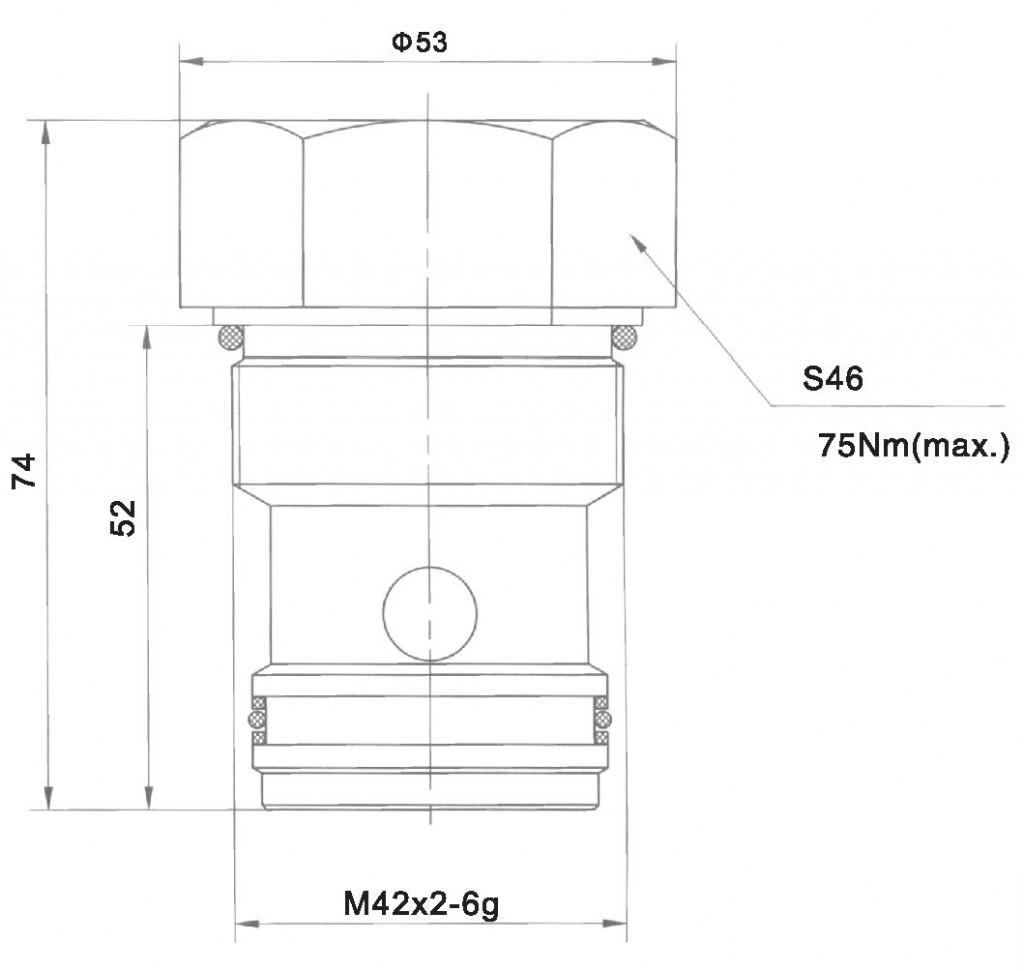 LCV20-00-00 dimensions torkhydraulics