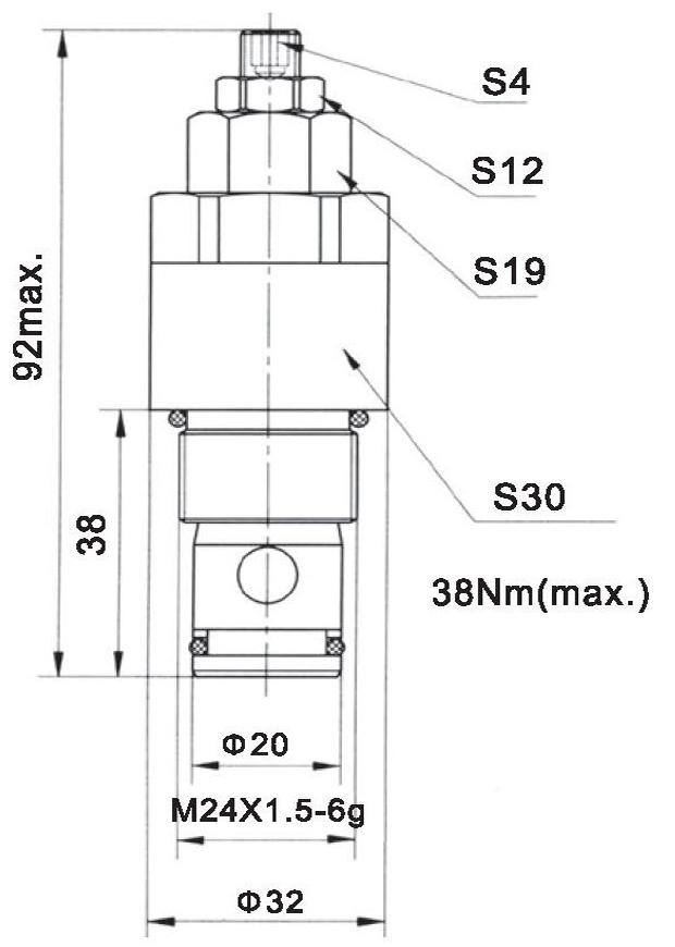 LR20-02-00 dimensions torkhydraulics