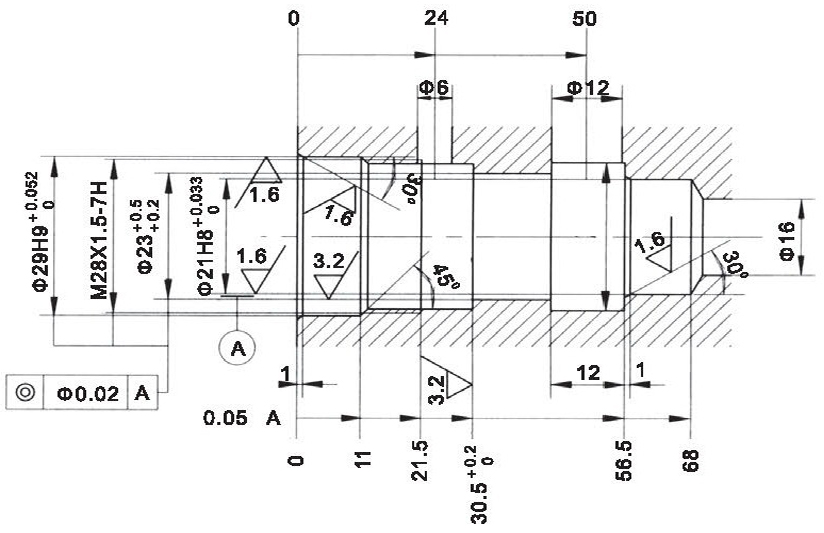 LR25-01-00 cavity dimensions torkhydraulics