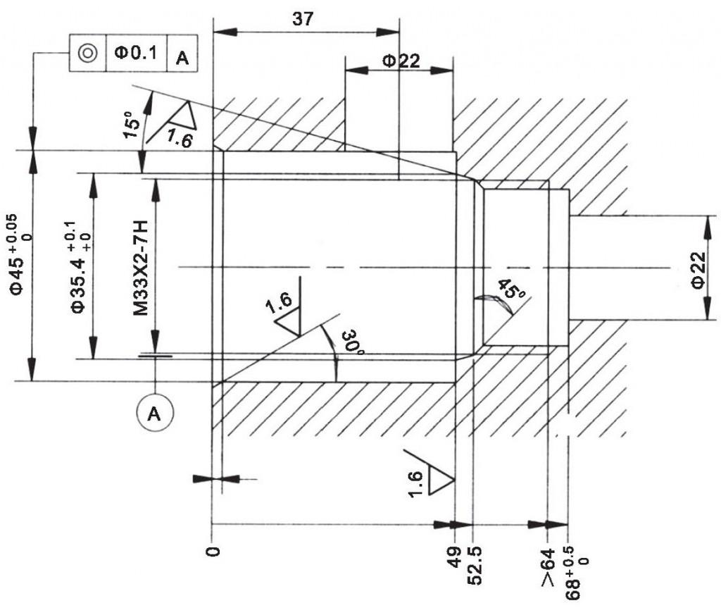 LR25-03-00 cavity dimensions torkhydraulics