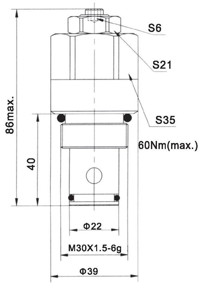 LR25-06-00 dimensions torkhydraulics