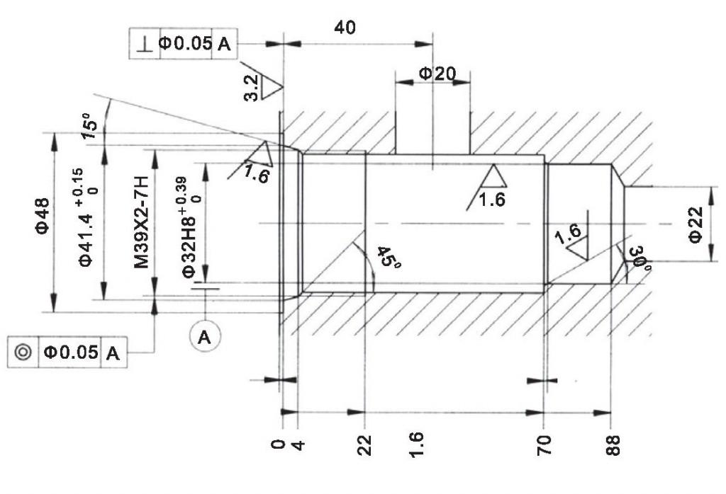 LR32-01-00 cavity dimensions torkhydraulics