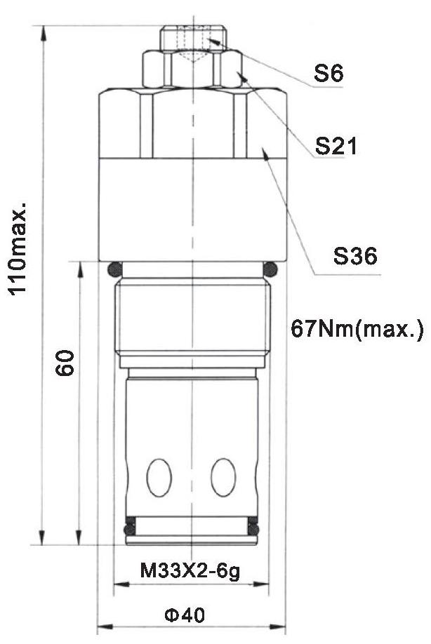 LR32-02-00 dimensions torkhydraulics