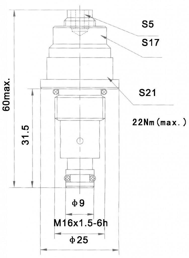 YF-04-01 dimensions torkhydraulics