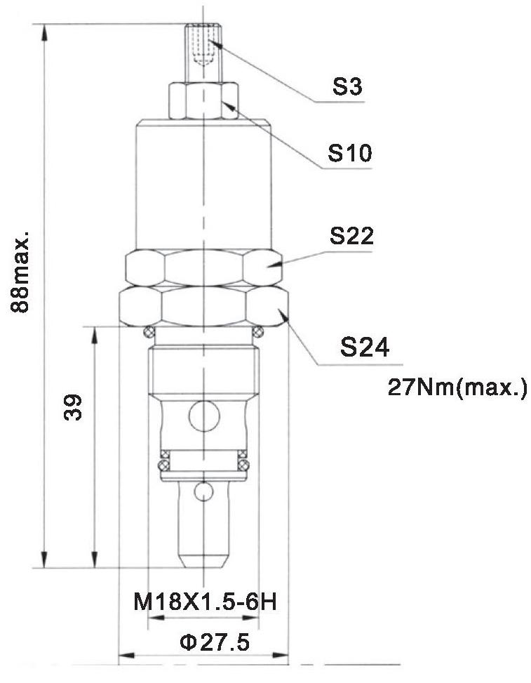 YF-04-05-00 dimensions torkhydraulics