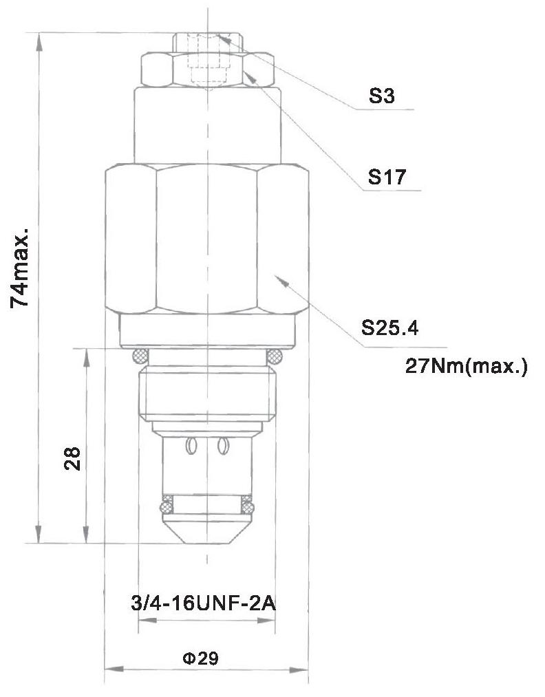 YF-04-06-00 dimensions torkhydraulics