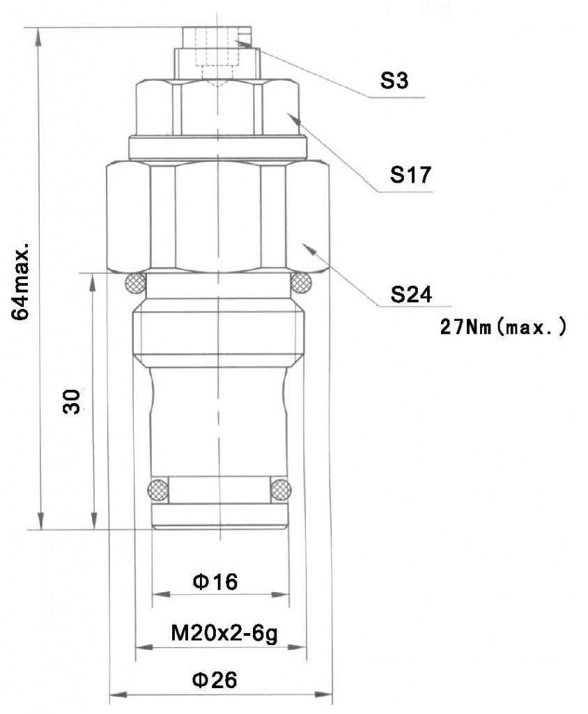 YF-04-10-00 dimensions torkhydraulics
