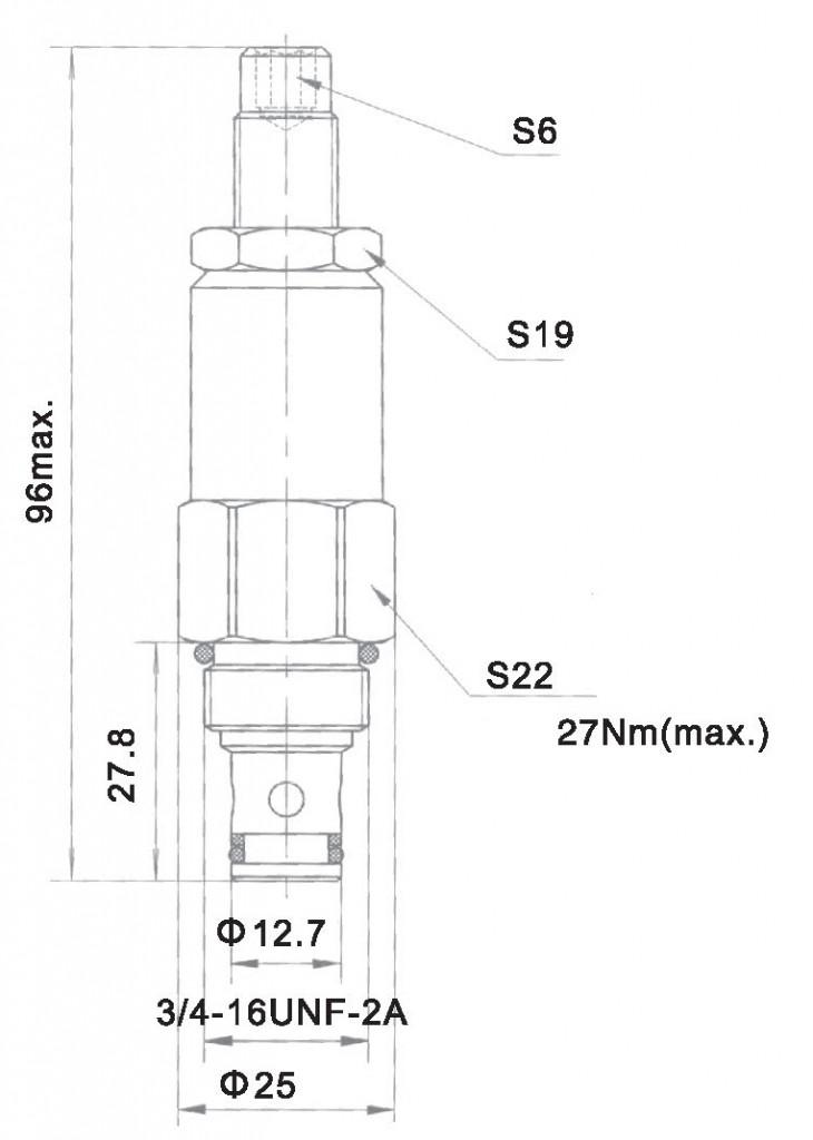 YF-08-00-00 dimensions torkhydraulics