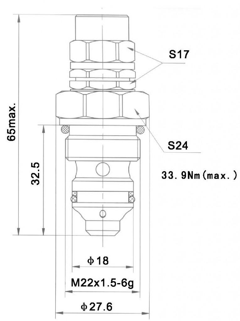 YF-08-08-00 dimensions torkhydraulics