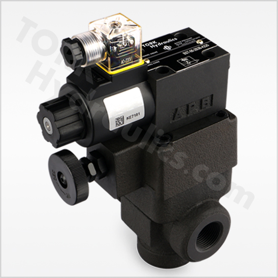 BST-series-solenoid-operated-relief-valves