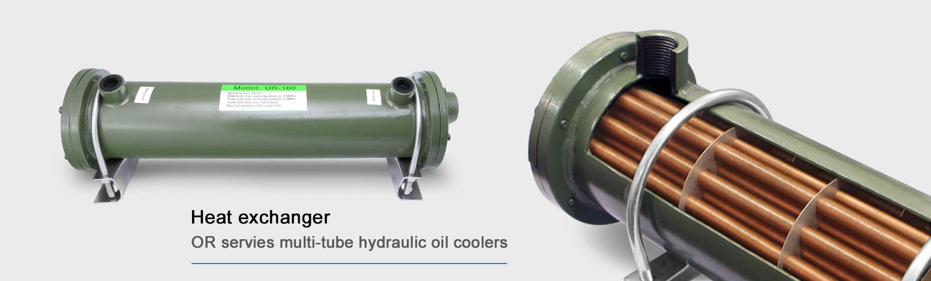 heat-exchanger-or-servies-multi-tube-hydraulic-oil-coolers